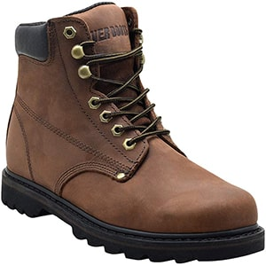 Ever Boots Grain Leather Work Boots