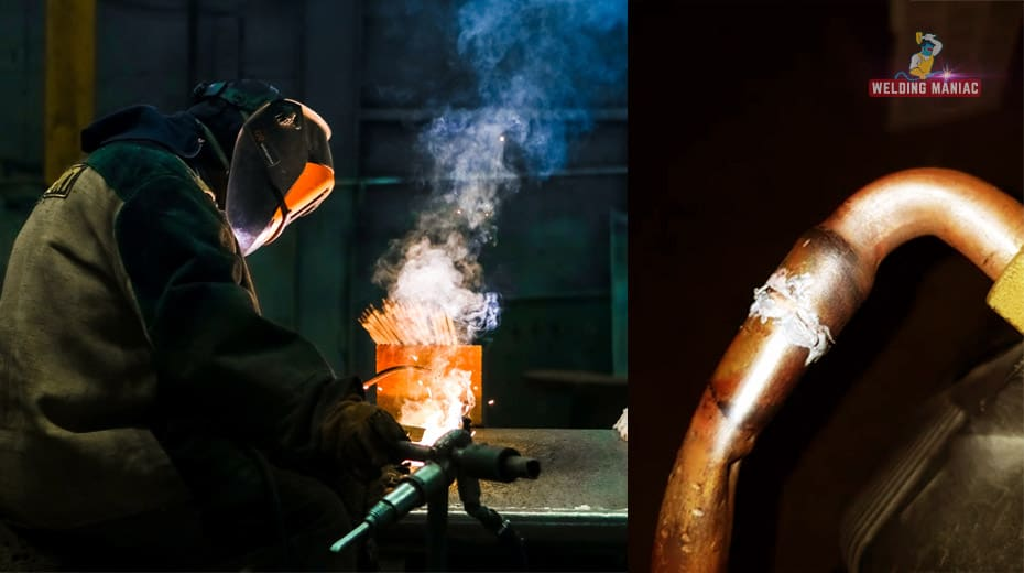 how to weld brass